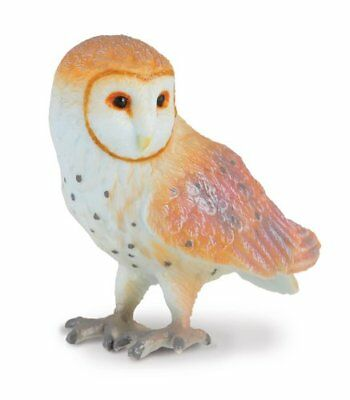Breyer CollectA 88003 Barn Owl,  realistic well made miniatures <><