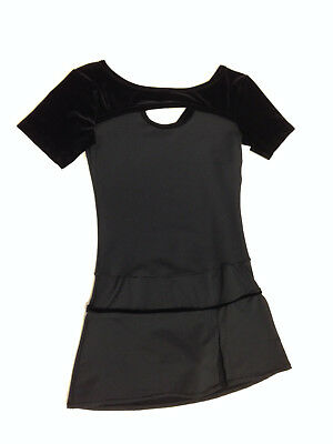 New Figure Skating Competition Dress Twizzle Black Adult Small