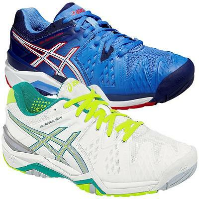 953d11633b Asics Gel-Resolution 6 All Court women s tennis shoes trainers