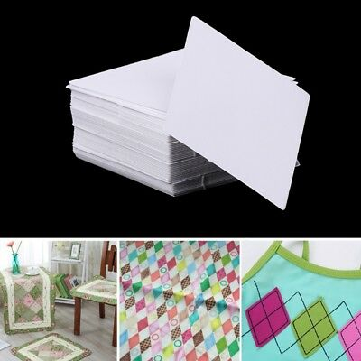 100Pcs Rhombus Shape Paper Quilting Templates Patchwork Template Sewing Craft