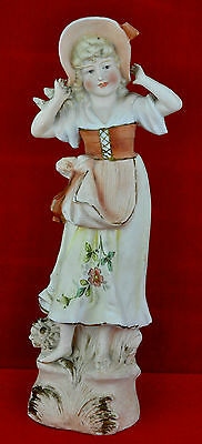 Antique porcelain figurine, probably Meissen.
