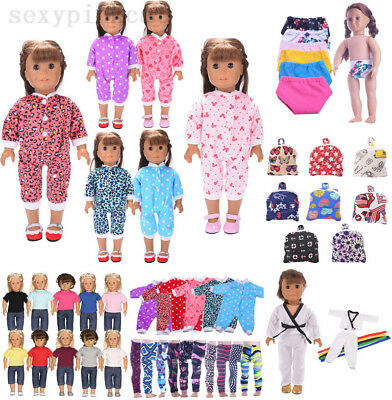 Doll Clothes Underwear Pants Shoes Dress Accessories for 18inch Doll Girl Toys