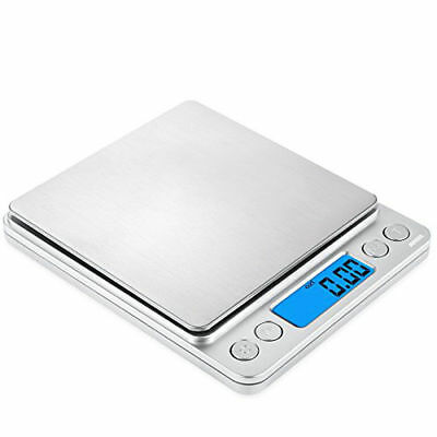 500g x 0.01g Digital Pocket Gram Scale Jewelry Weight Electronic Balance Scale