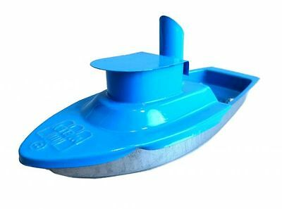 Candle Boat, Pop pop Boat, Hat Boat, Welby, blue, steel,. Tin toys