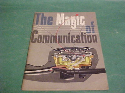 1952 Bell Telephone System The Magic Of Communication