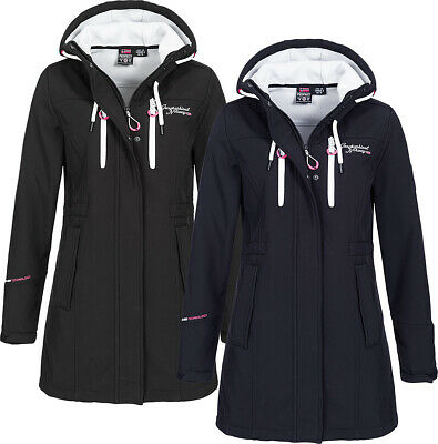 GEOGRAPHICAL NORWAY DAMEN Herbst Softshell Jacke Parka