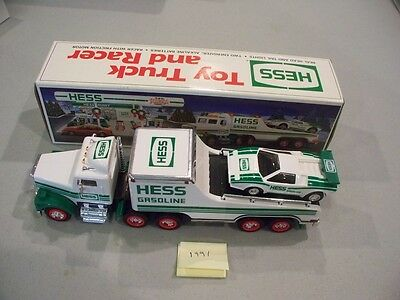 Hess Toy Truck And Racer 1991 New In Box Free Shipping