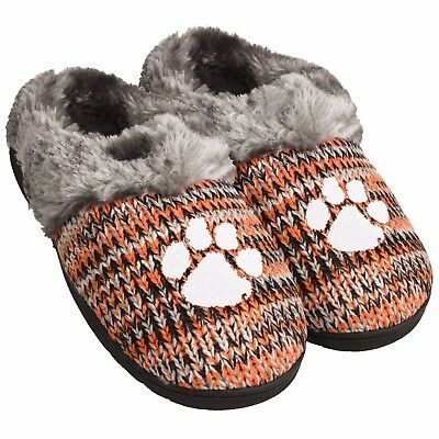 c2618f3f CLEMSON TIGERS SLIPPERS Logo NEW Womens Slide House shoes! Peak Slide