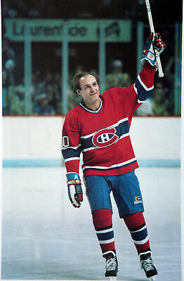 Guy Lafleur Montreal Canadien Farewell Nostalgia Hockey Color Photo H87