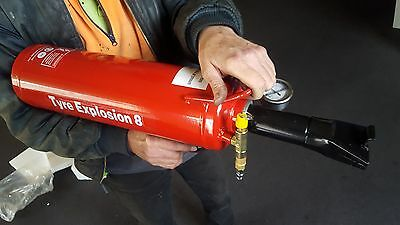 8 Litre Portable Bead Seater/ Blaster/ Booster /Bazooka- Tyre Inflator