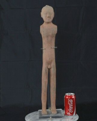 Han Dynasty Pottery Warrior Figure 60.5cm Standing Man