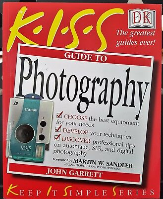 KISS Guide to Photography Camera Book DK