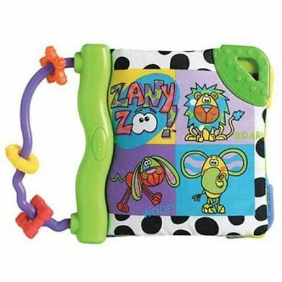 NEW Playgro ZanY Zoo Happy Gums Teether Book