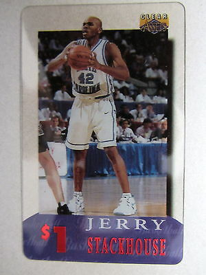 1$ Telefonkarte Phonecard USA Basketball League Spieler Player JERRY STACKHOUSE