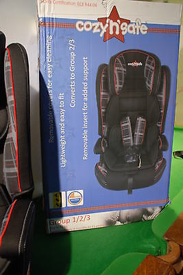COZY N SAFE  universal  Baby Car Seat  GROUP 1-2-3   Brand new boxed
