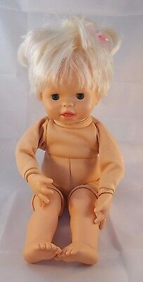 """Fisher Price Little Mommy Doll Moves Sounds 15"""" 2006"""
