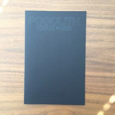 Brand New Pogolith #000 The Devil and God Are Raging Lyric Book Second Printing