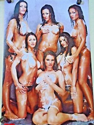 NUTS - Sexy Soapy Pin-up Poster PH0311 /  New cond. - 24 x 36""""