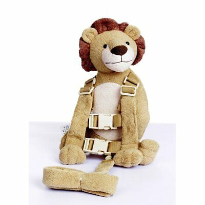 Berhapy 2 in 1 Lion Toddler Safety Harness Backpack Children's Walking Leash