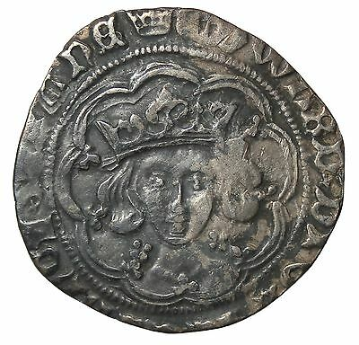 Edward IV 1464-1470 AD Great Britain Light Coinage Silver Half Groat S.2000
