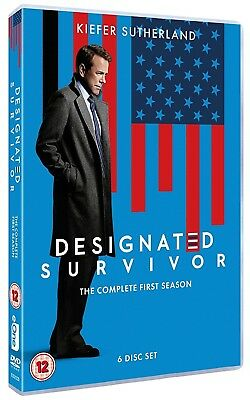 DESIGNATED SURVIVOR 1 (2016-2017) Political TV Season Series - Rg2 Eu DVD not US