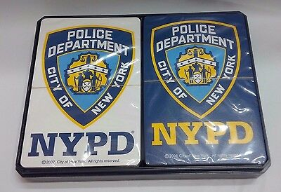 acbe31d39 Nypd City Of New York Police Department Double Pack Blue White Playing Cards
