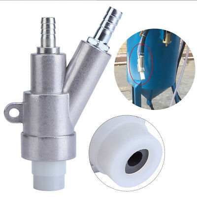 Manual Automatic Sand Blasting Equipment Spray Gun Head B1 + 35*20*8MM Nozzle