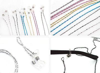 Casual Eyeglass Eyewears Sunglasses Reading Glasses Chain Cord Holder neck strap