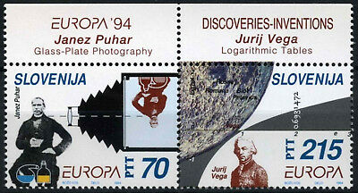 Slovenia 1994 SG#231-2 Europa Discoveries & Inventions MNH Set #D56367