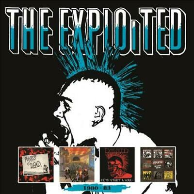 The Exploited - 1980-83 New Cd