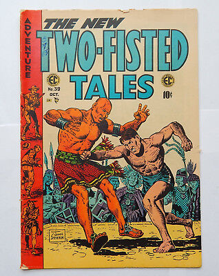 Two-Fisted Tales #39 by John Severin, Pub by EC (Oct 1954) VG