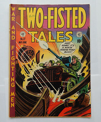 Two-Fisted Tales #27 by EC (May-June 1952) GD