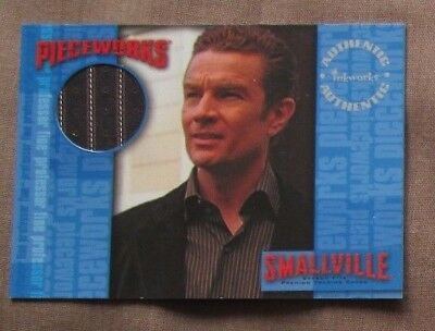 SMALLVILLE S5 - PW9 JAMES MASTERS as Prof Fine COSTUME Trading Card INKWORKS