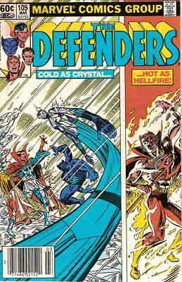 Defenders, The #105 VF/NM; Marvel | save on shipping - details inside