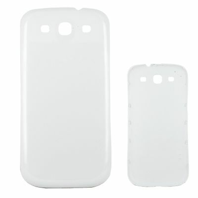 White New Back Battery Cover Door Case For Samsung Galaxy S3 III i9300 i9305