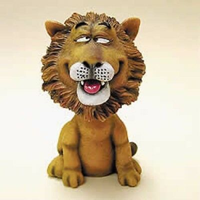 """Whimsical 3"""" Bobblehead Lion""""~New~Mib~Great Gift!!!"""