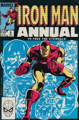 Iron Man (1st Series) Annual #6 VF/NM; Marvel | save on shipping - details insid