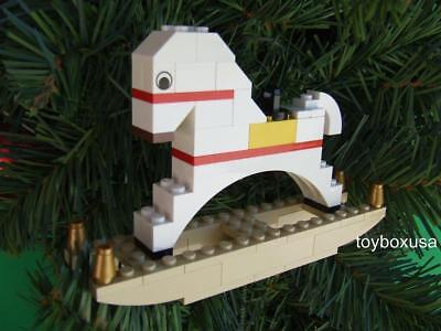 * Custom Lego Christmas Holiday Tree Ornament Car Truck Built w// NEW Bricks
