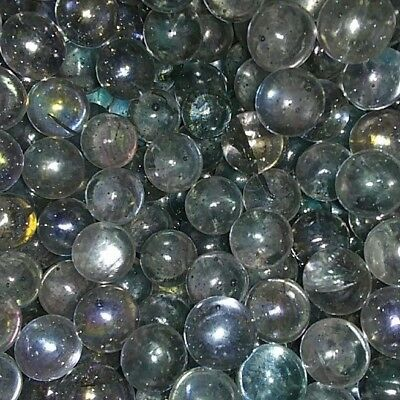 """#1 New Crystal Clear Fenton Glass Marbles Bonanza 1"""" in diameter 4lbs 4 Pounds"""