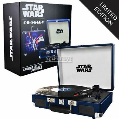 CROSLEY STAR WARS Classic Deluxe Bluetooth Turntable Speaker Limited Edition
