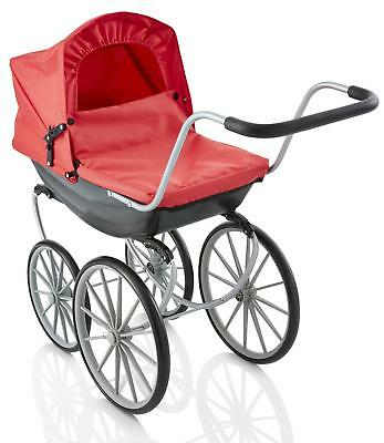 Molly Dolly Vintage Style Carriage Dolls Pram Pushchair Buggy