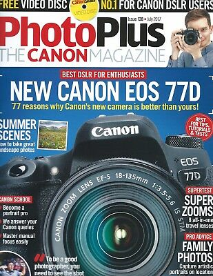 Photoplus The Canon Magazine-Eos 77D-Summer Scenes-Best Tips-Tests-Pro Advice