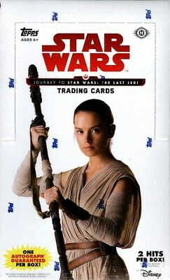 Topps Star Wars Journey To The Last Jedi Hobby Box Blowout Cards