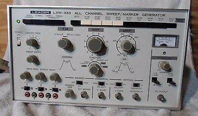 LEADER All Channel Sweep / Marker Generator  Model LSW 333