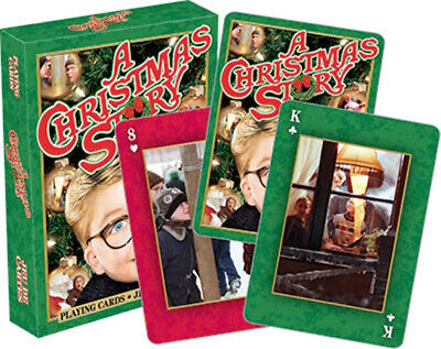 A Christmas Story Movie Photo Illustrated Playing Cards, NEW SEALED