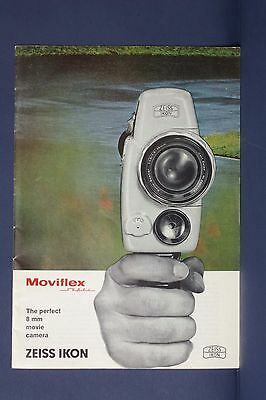 F69307~ Zeiss Moviflex Super Camera Brochure – Approx 20 pages
