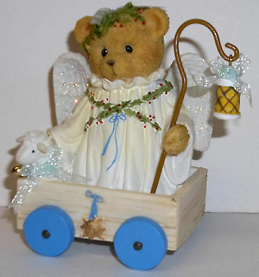 Cherished Teddies Roberta Figurine NEW # 4040471 Rejoice In The Way Season