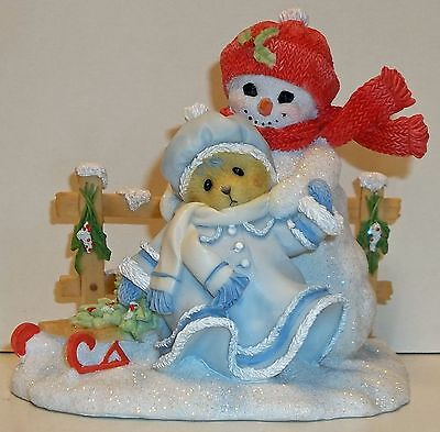 Cherished Teddies Marie Figurine NEW # 4047390 Your Smile Can Warm Coldest Days