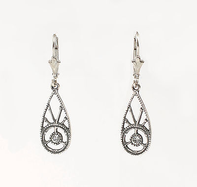 Silver 925 Earrings with Swarovski Stones a1-01462