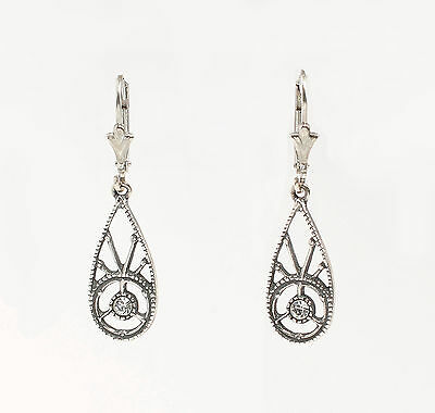 Silver 925 Earrings with Swarovski Stones a2-01462